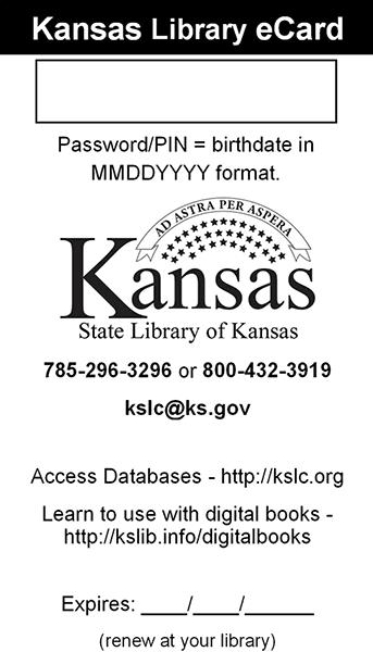Kansas Library eCard