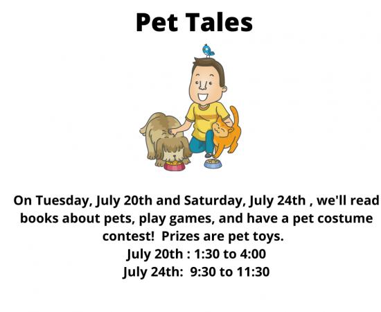 Pet Tale Week Advertisement